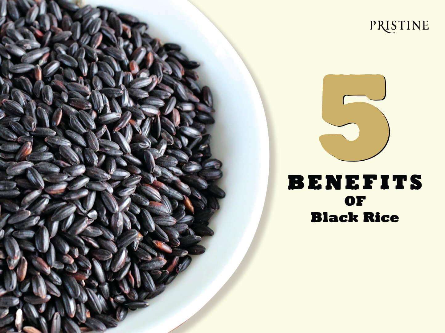 Benefits of black rice -Pristine Organics