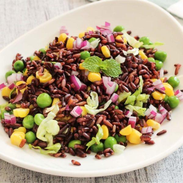Black Rice Recipe - Healthy Black Rice Salad - Pristine Organics