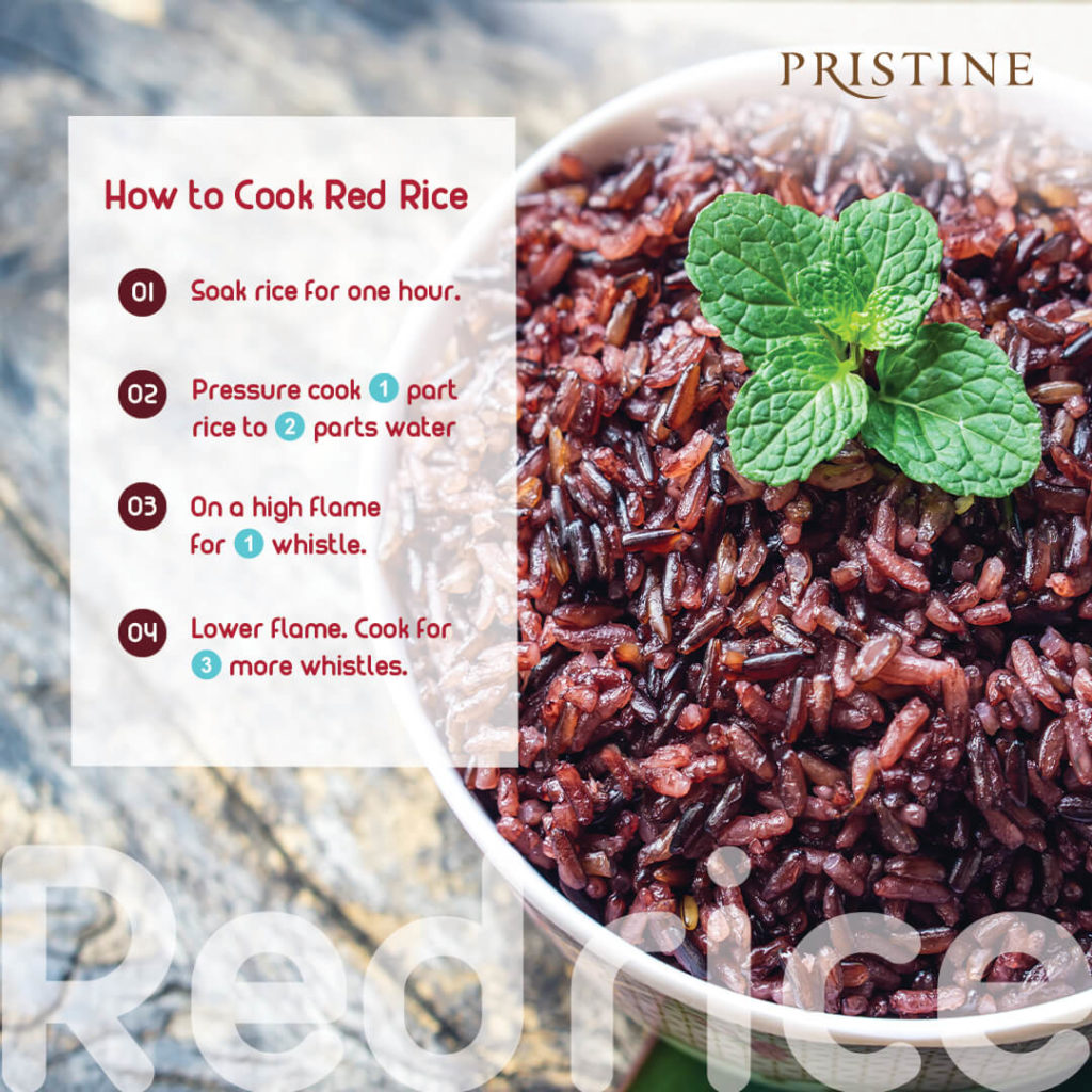 How to cook red rice - Pristine Organics