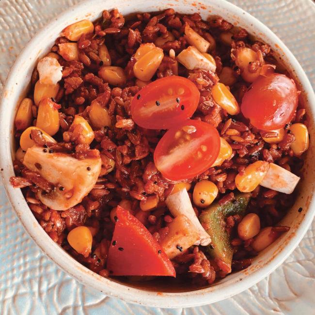 Red Rice Pulao | Red Rice Recipe - Pristine Organics