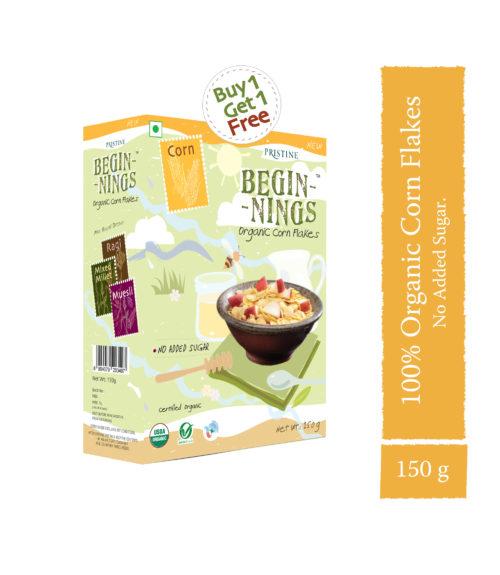 Organic Corn Flakes- Healthy Breakfast Cereals - Pristine Organics