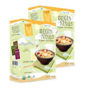 Organic Corn Flakes - Healthy Corn Flakes - Pristine Organics