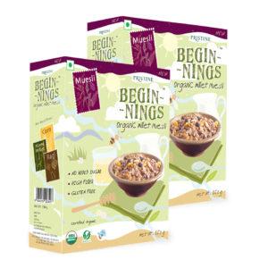 Organic Millet muesli - Pristine Organics