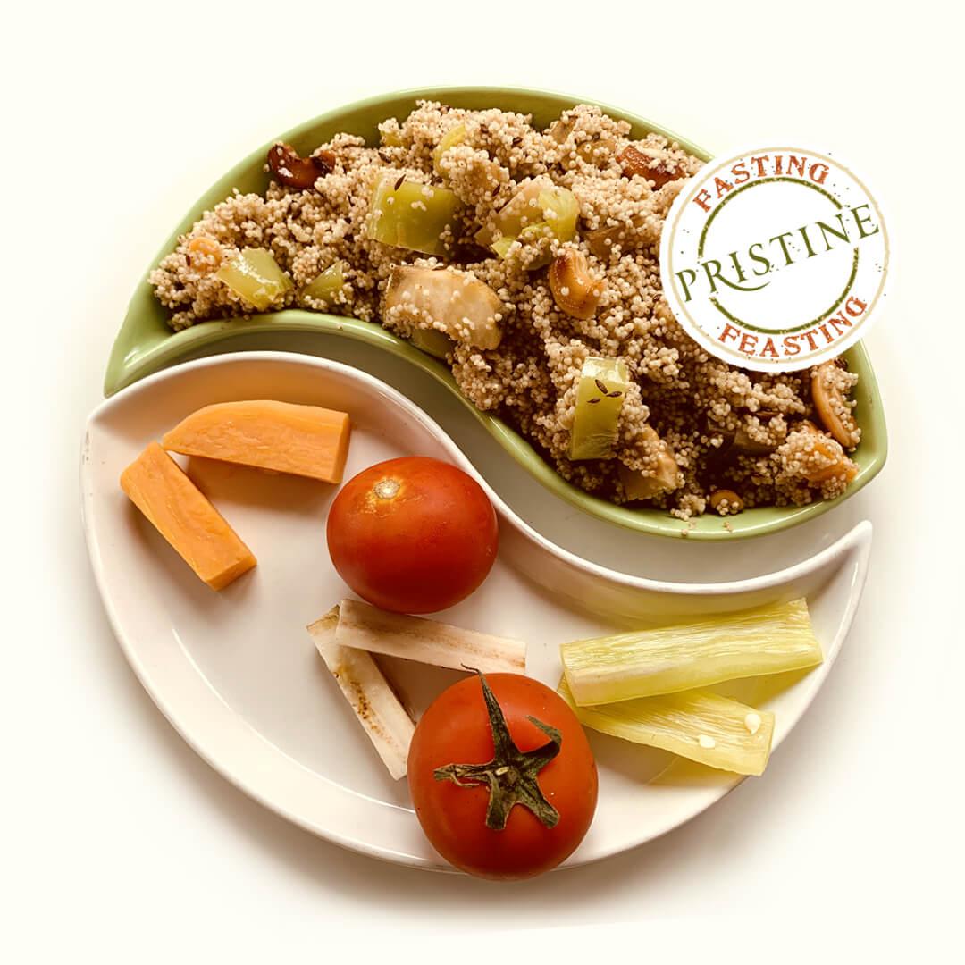 Barnyard Millet Upma - Millet Recipes - Pristine Organics