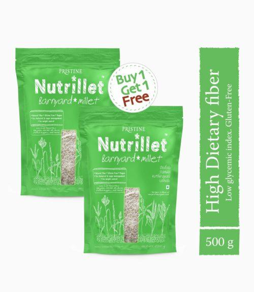 Buy Barnyard Millet 500g - Buy1 Get1 Free Offer - Pristine Nutrillet (1)