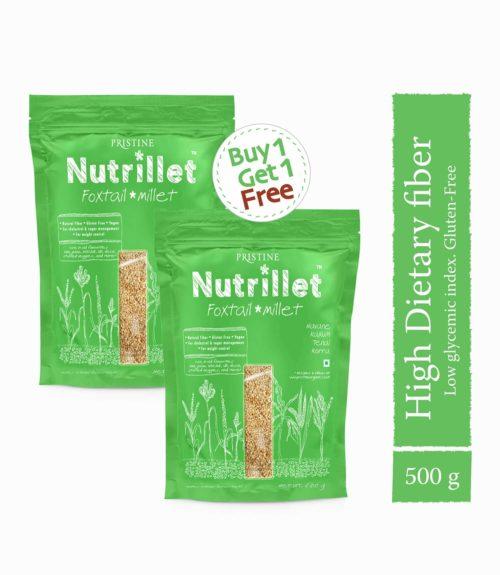 Buy Foxtail Millet,1kg at ₹90 only - Tenai -Navane - Pristine Nutrillet Millets (2)