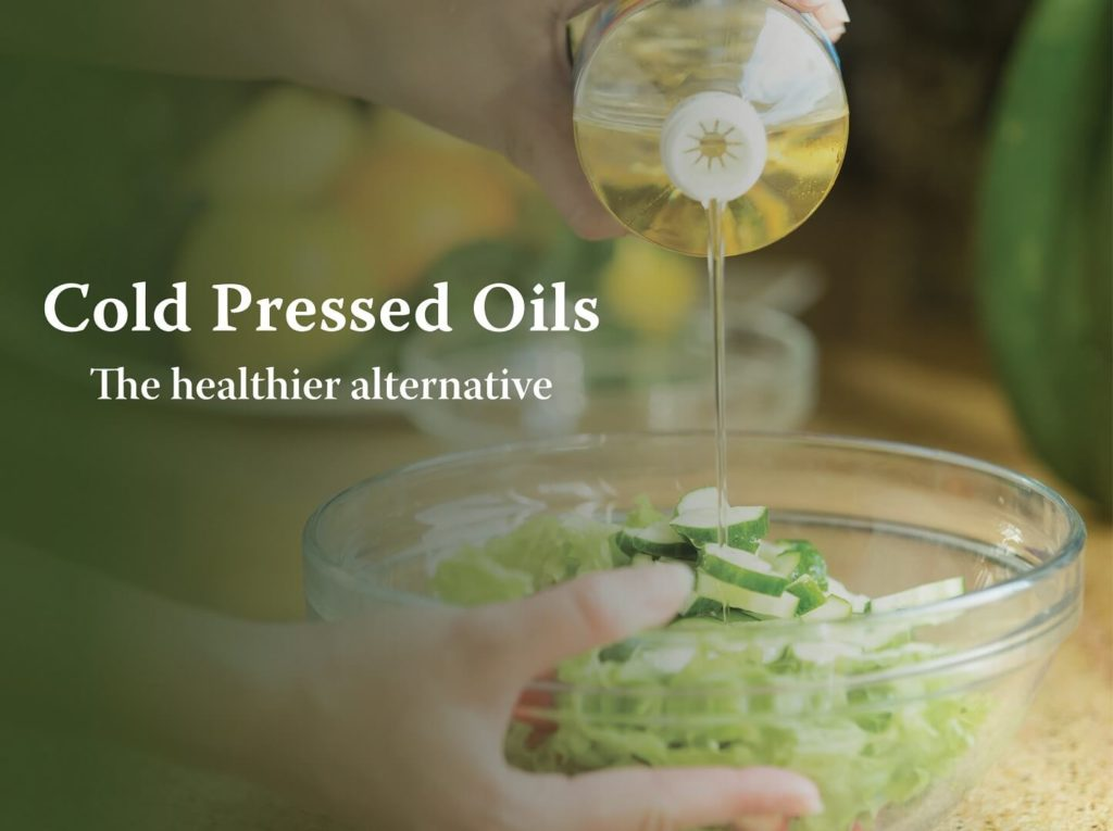 cold-pressed oils - Pristine Organics