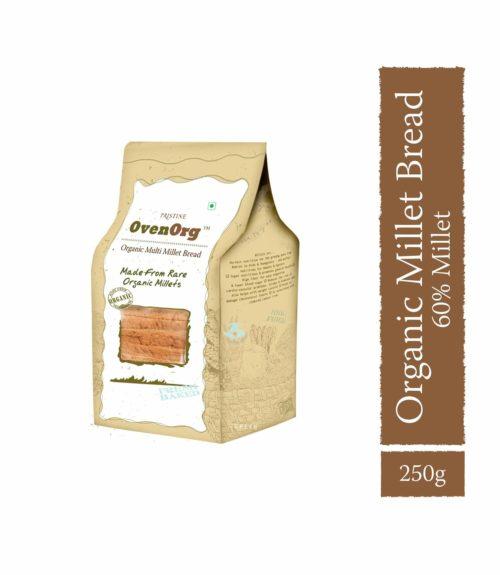 Multi Millet Bread - Oven Org Bread -Pristine Organics (1)