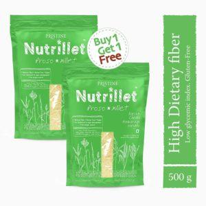 Proso Millet, 500g - baragu - Chena- Panivaragu-Varigalu- Pristine Nutrillet Millets (1)