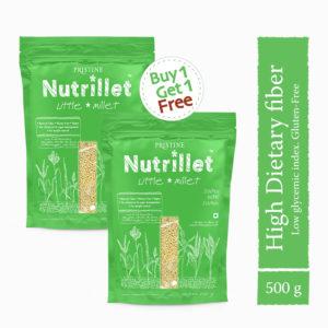 Buy Little Millet 500g Online, BOGO Offer - Pristine Nutrillet Millet