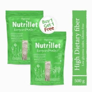 Buy Barnyard Millet 500g, Sanwa, Oodalu, Kuthiravalli - Pristine Nutrillet