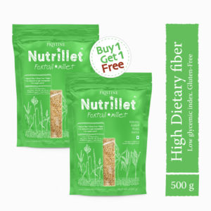 Buy Foxtail Millet 500g, Buy1 Get1 Free at ₹90 only, Tenai, Navane - Pristine Nutrillet Millets