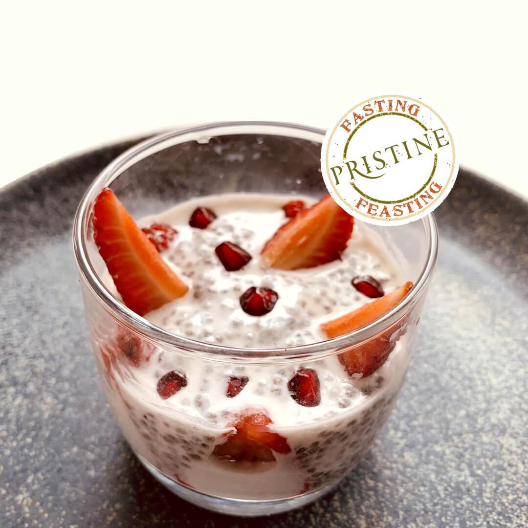 Organic chia falooda - chia seeds recipes - Pristine Organics
