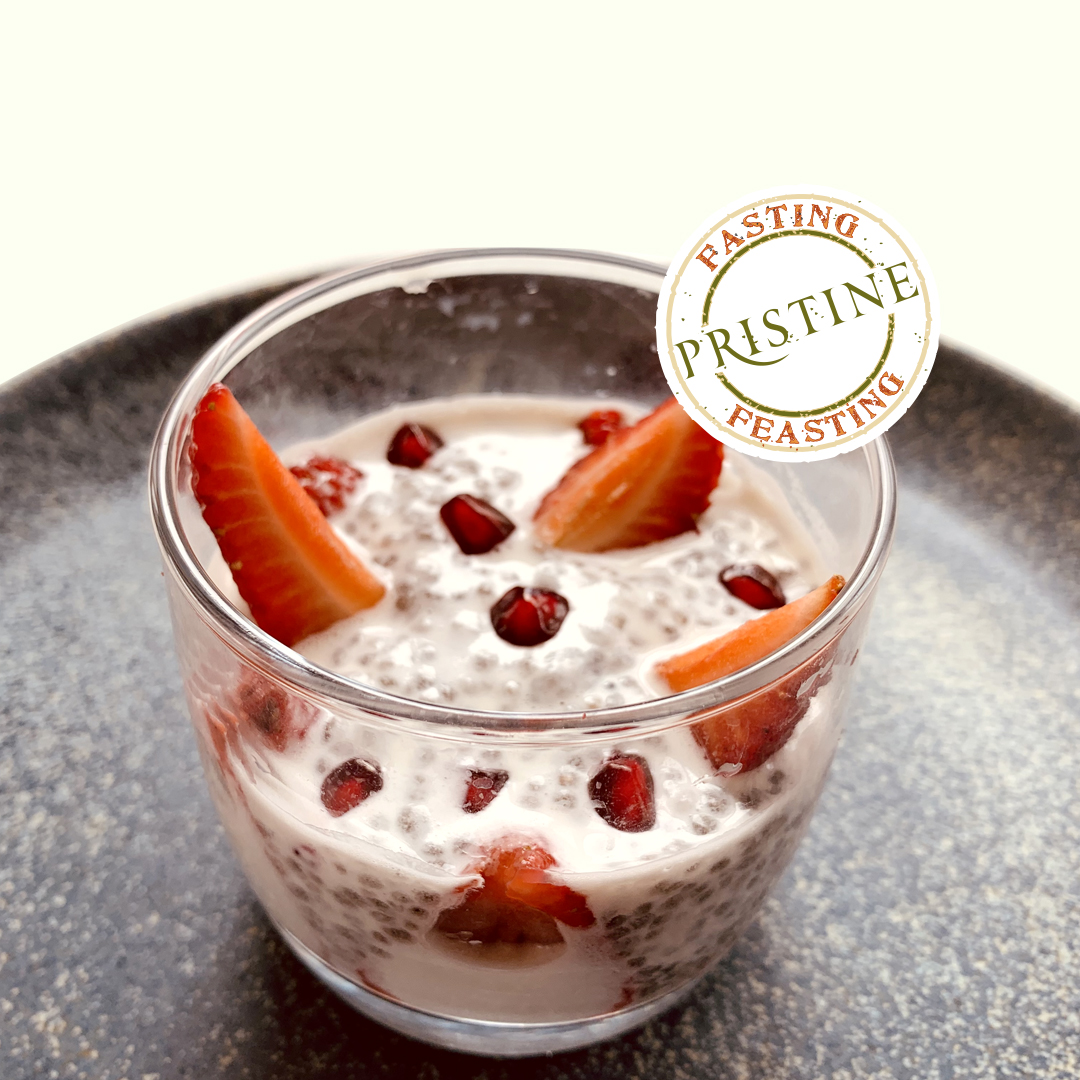 chia seeds falooda - chia seeds recipes - Pristine Organics