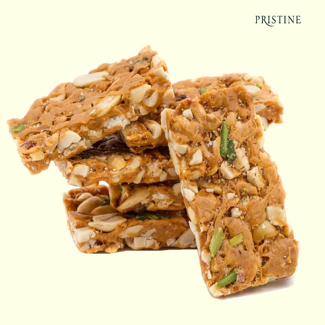 Organic Peanut Chikki - Pristine Organics